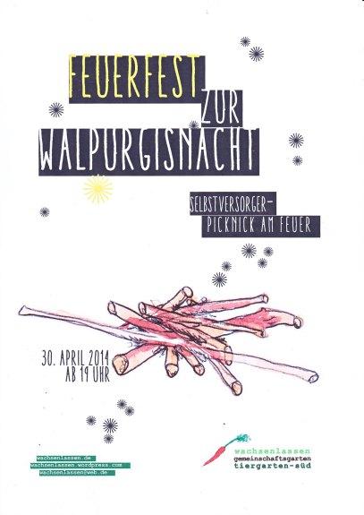 Feuerfest-plakat